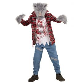 Disfraz hombre lobo inf
