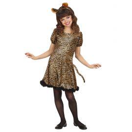Disfraz leopardo chica