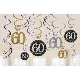 Kit decoracion 60 cumple
