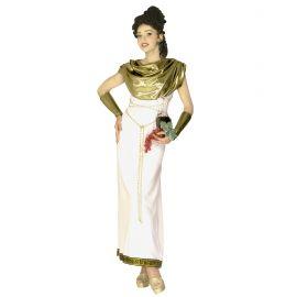 Disfraz griega diosa oro