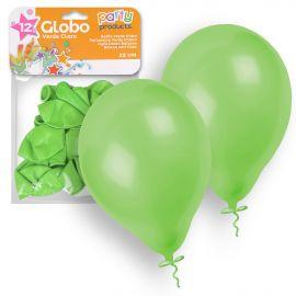 Globos pastel verde claro 12 und 23 cm