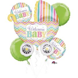 Bouquet globos baby welcome