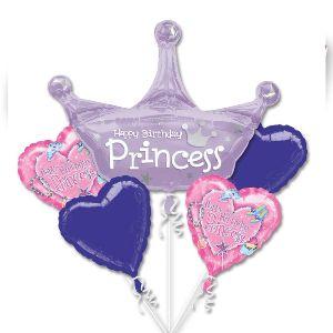 Bouquet globos princesa