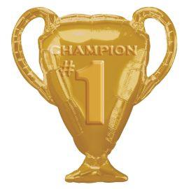 Globo helio trofeo oro