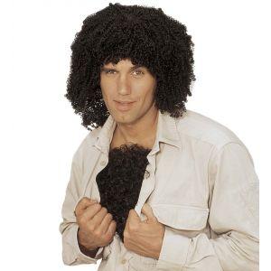 Pecho peludo negro