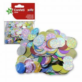 Confetti colores laser