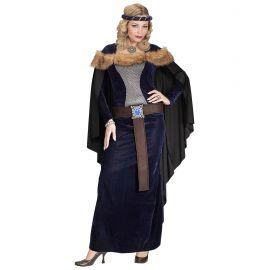 Disfraz vikinga princesa