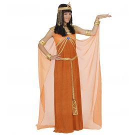 Disfraz reina de egipto naranja