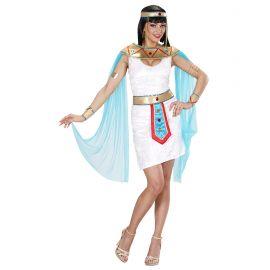 Disfraz reina egipcia corto chica
