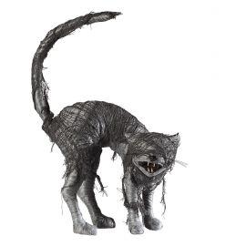 Gato zombie con ojos luz y sonido