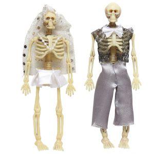 Novios esqueleto 15 cm