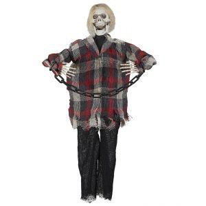 Esqueleto encadenado animado 60cm