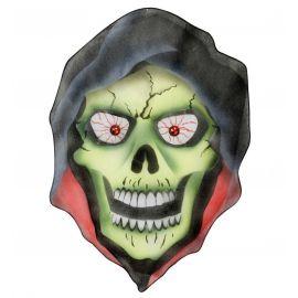 Figura demonio ojos piedra
