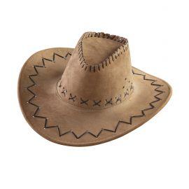 Sombrero vaquero agamuzado marron