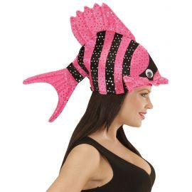 Sombrero pez rosa