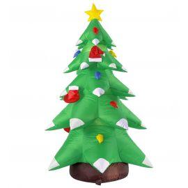 Arbol navidad con luz 183 cm hinchable