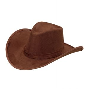 Sombrero cowboy marron