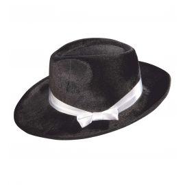 Sombrero gasnter negro terciopelo