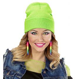 Gorro verde neon