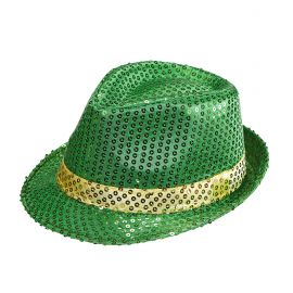Sombrero fedora san patricio
