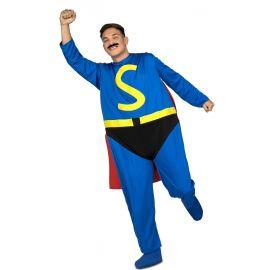 Disfraz superheroe gordo
