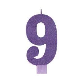 Vela gigante purpurina purpura 9