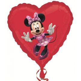 Globo helio minnie corazon