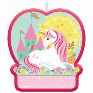 Vela unicornio magico