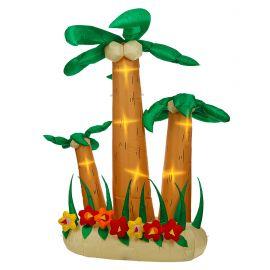 Set de 3 palmeras luz 240cm