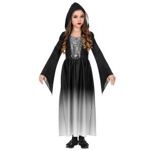 Disfraz dama gotica gris inf