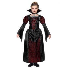 Disfraz vampira burdeos inf