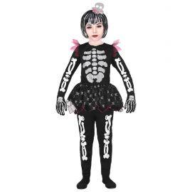 Disfraz esqueleta tutu