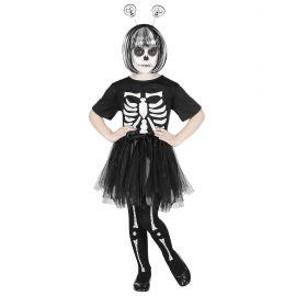 Disfraz esqueleto nena 3-4