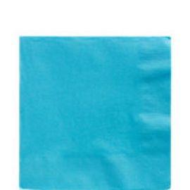 Servilletas 33x33 azul caribe