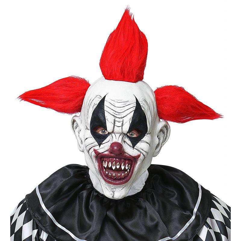 mascara payaso horror con pelo 8f5c20d8ded7