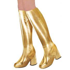 Cubre botas go go oro