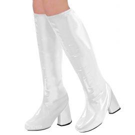 Cubre botas go go blanco