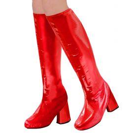 Cubre botas go go roja