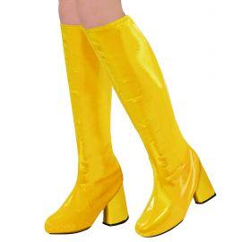 Cubre botas go go amarillas
