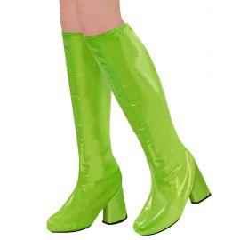 Cubre botas go go verdes