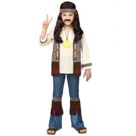 Disfraz hippie niño vaquero