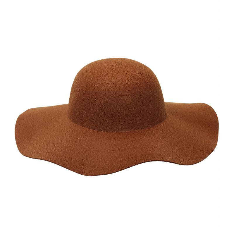 Sombrero mujer marron personalizable 445a38485b1