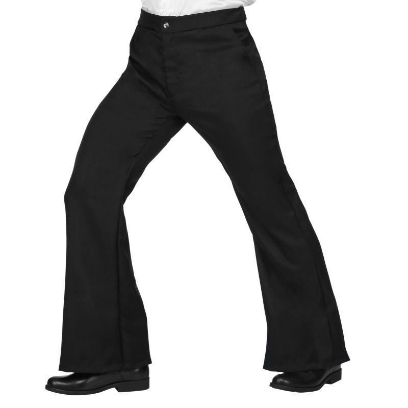 precio más bajo con variedades anchas hermoso estilo pantalones hombre años 70