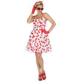 Disfraz años 50 cerezas