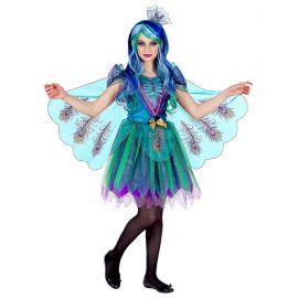 Disfraz pavo real infantil