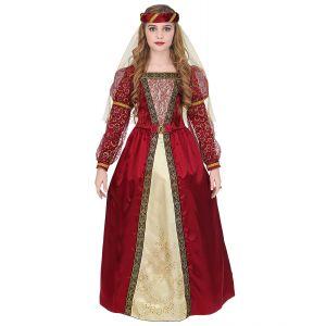Disfraz princesa medieval enagua inf