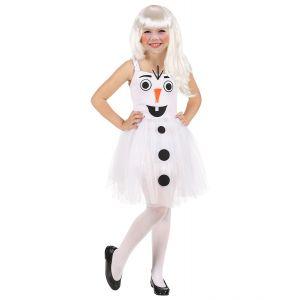 Disfraz muñeca de nieve 3-4 años