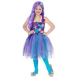 Disfraz princesa sirena 3-4