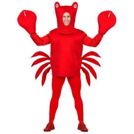 Disfraz cangrejo rojo