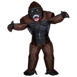 Disfraz gorila hinchable